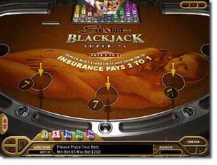 Download Super 7's Blackjack