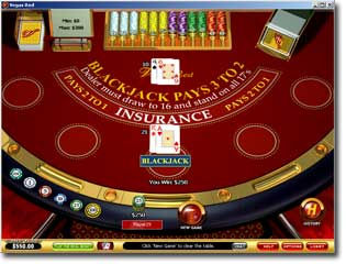 Download Vegas Red Blackjack